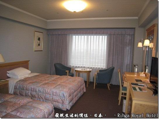 hotel_Rihga Royal Hotel Sakai _日本,溫馨的客房,房間雖然不大,但在日本這寸土寸金的地方,應該已經算是相當大的房間了。