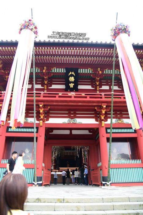 鶴岡八幡宮(つるがおかはちまんぐう)是位於日本神奈川縣鎌倉市的神社。舊社格為國幣中社(現神社本廳的別表神社)。